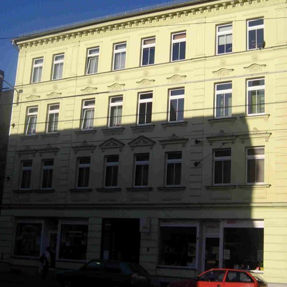 Sanierter Altbau Zschochersche Straße 24 Leipzig-Plagwitz